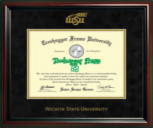 WSU Diploma Single Black Suede 4