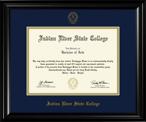 Indian River State College Diploma Frame 6012