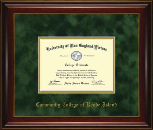 Community College of Rhode Island Diploma Frame 7011