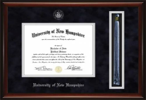 University of New Hampshire UNH Diploma Tassel Frame - 7041