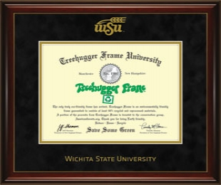 WSU Diploma Single Black Suede 5