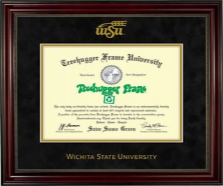 WSU Diploma Single Black Suede 7